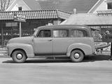 Chevrolet 3100 Suburban (GP/HP-3116) 1949–50 wallpapers