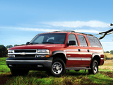 Chevrolet Suburban 2500 (GMT800) 2001–02 wallpapers