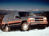 Chevrolet Tahoe (GMT410) 1995–99 pictures