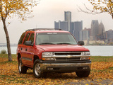 Chevrolet Tahoe (GMT840) 2000–06 pictures
