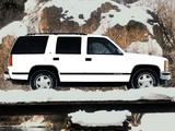 Images of Chevrolet Tahoe (GMT410) 1995–99