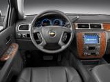Photos of Chevrolet Tahoe Hybrid (GMT900) 2008