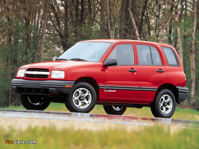 Chevrolet Tracker 1999–2004 images (640 x 480)