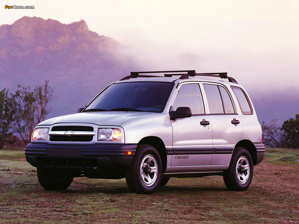 Chevrolet Tracker 1999–2004 images (1024 x 768)