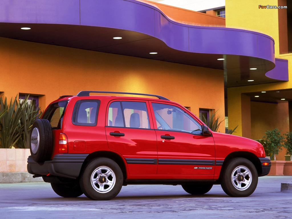 Chevrolet Tracker 1999–2004 photos (1024 x 768)