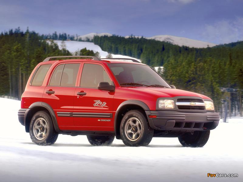 Chevrolet Tracker 1999–2004 photos (800 x 600)