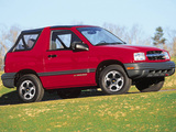 Chevrolet Tracker Convertible 1999–2004 wallpapers