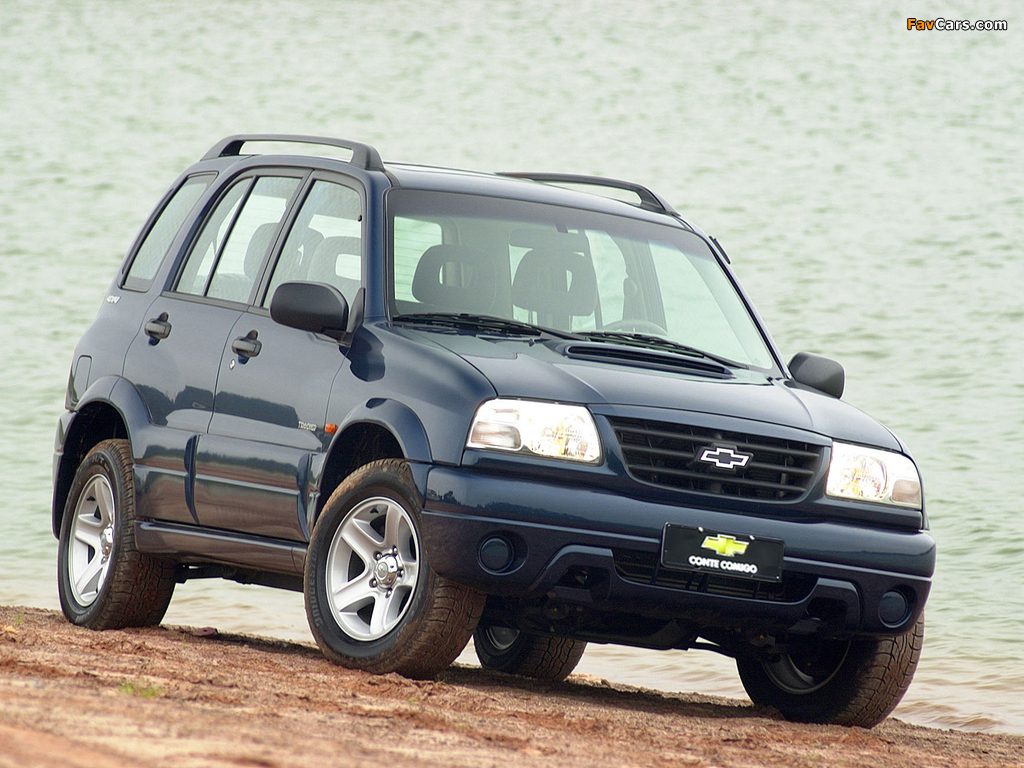 Chevrolet Tracker 2001–06 wallpapers (1024 x 768)