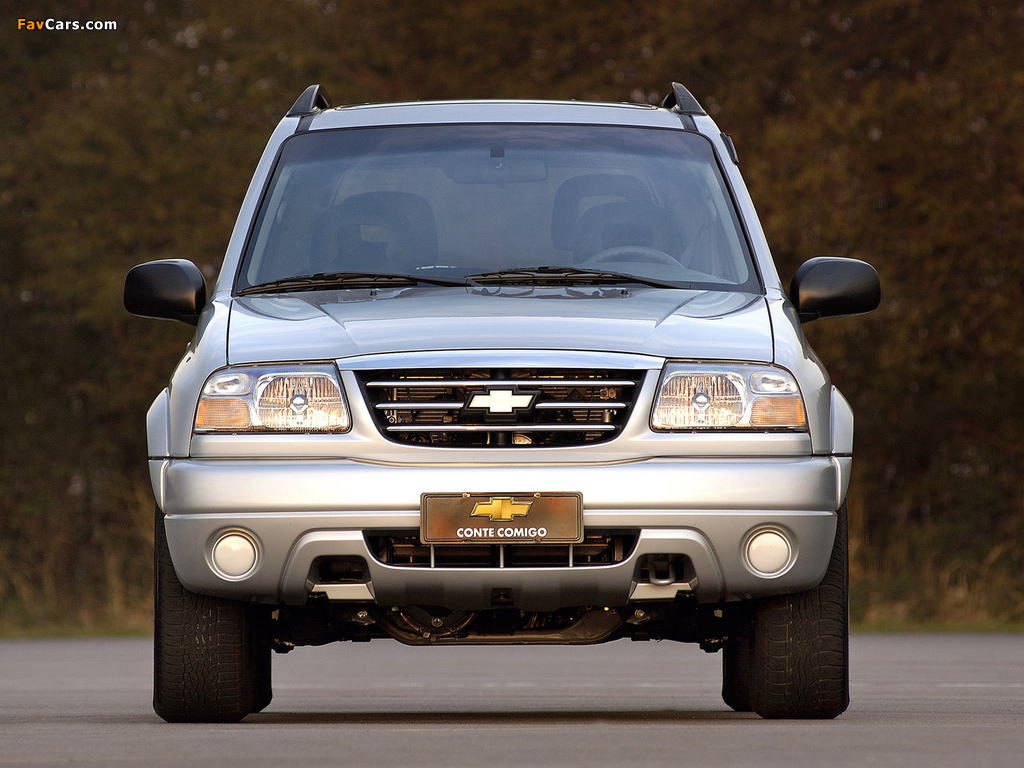 Chevrolet Tracker 2006 images (1024 x 768)