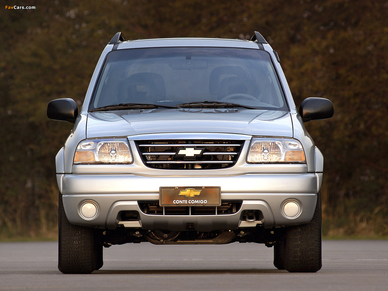 Chevrolet Tracker 2006 images (1280 x 960)
