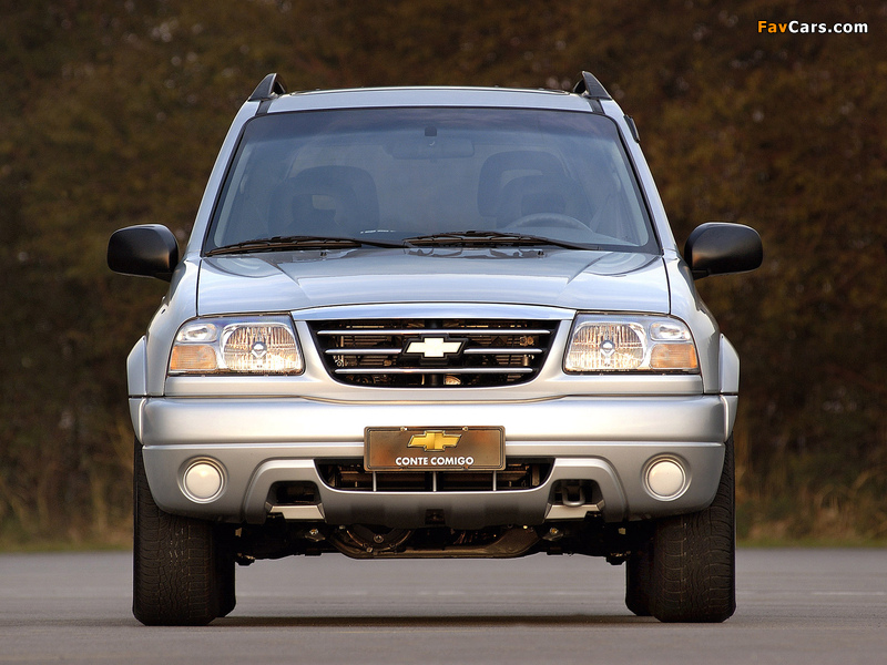 Chevrolet Tracker 2006 images (800 x 600)