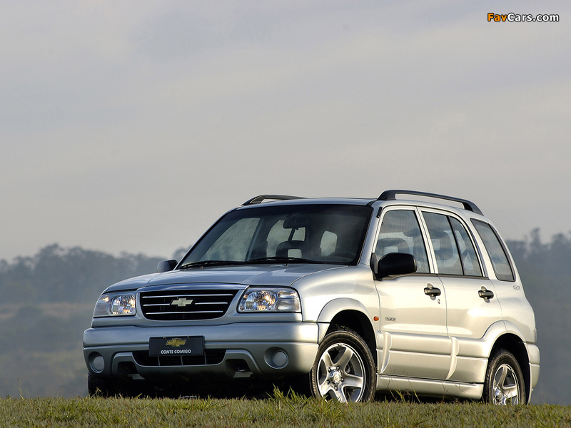 Chevrolet Tracker 2006 Images 800x600