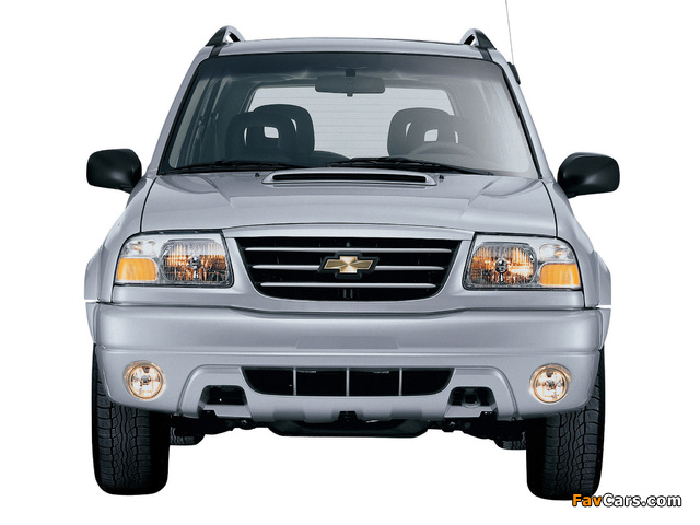 Chevrolet Tracker 2006 pictures (640 x 480)