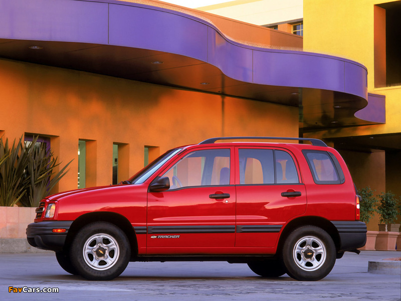 Images of Chevrolet Tracker 1999–2004 (800 x 600)