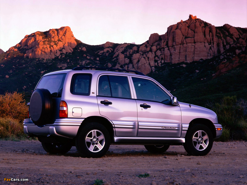 Images of Chevrolet Tracker 1999–2004 (1024 x 768)