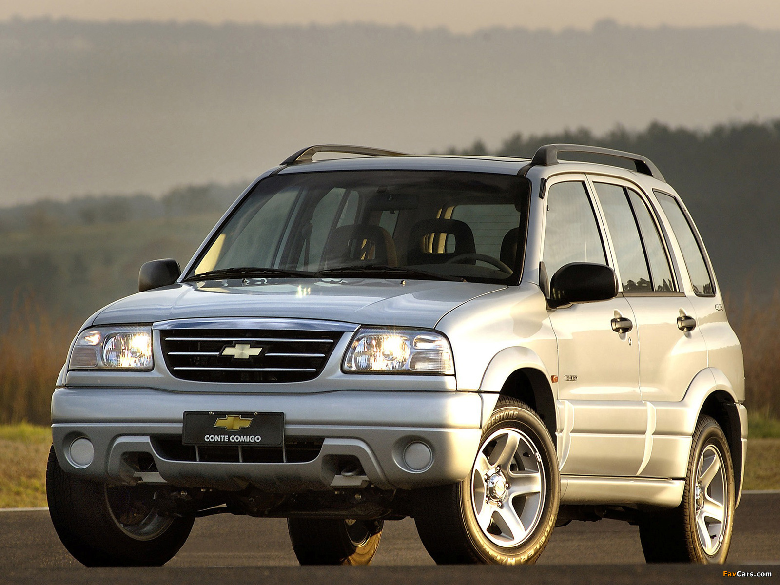 Images of Chevrolet Tracker 2006 (1600 x 1200)