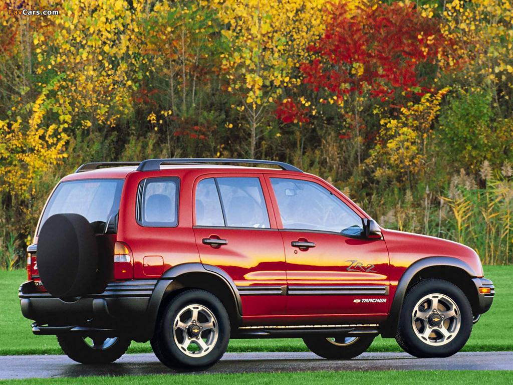 Photos of Chevrolet Tracker 1999–2004 (1024 x 768)