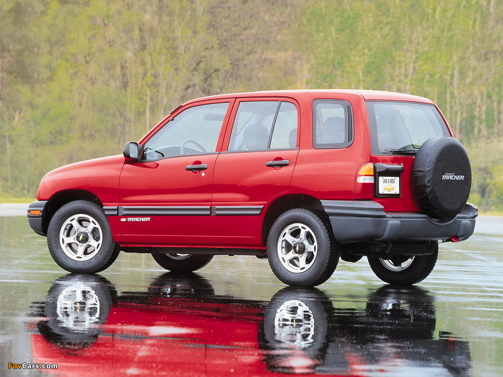 Pictures of Chevrolet Tracker 1999–2004 (1024 x 768)