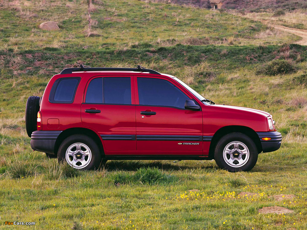 Chevrolet Tracker 1999–2004 wallpapers (1024 x 768)