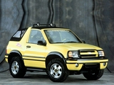 Chevrolet Tracker ZR2 Convertible 2003–04 wallpapers