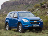 Pictures of Chevrolet TrailBlazer 2012