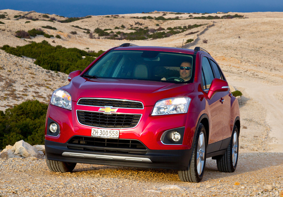 Chevrolet Trax 2012 Images