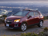 Images of Chevrolet Trax CA-spec 2012