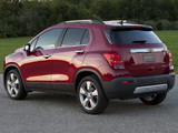 Photos of Chevrolet Trax 2012