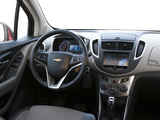 Photos of Chevrolet Trax CA-spec 2012