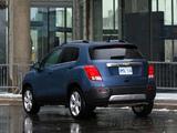 Photos of Chevrolet Trax CA-spec 2012