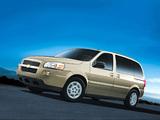 Images of Chevrolet Uplander SWB 2005–08