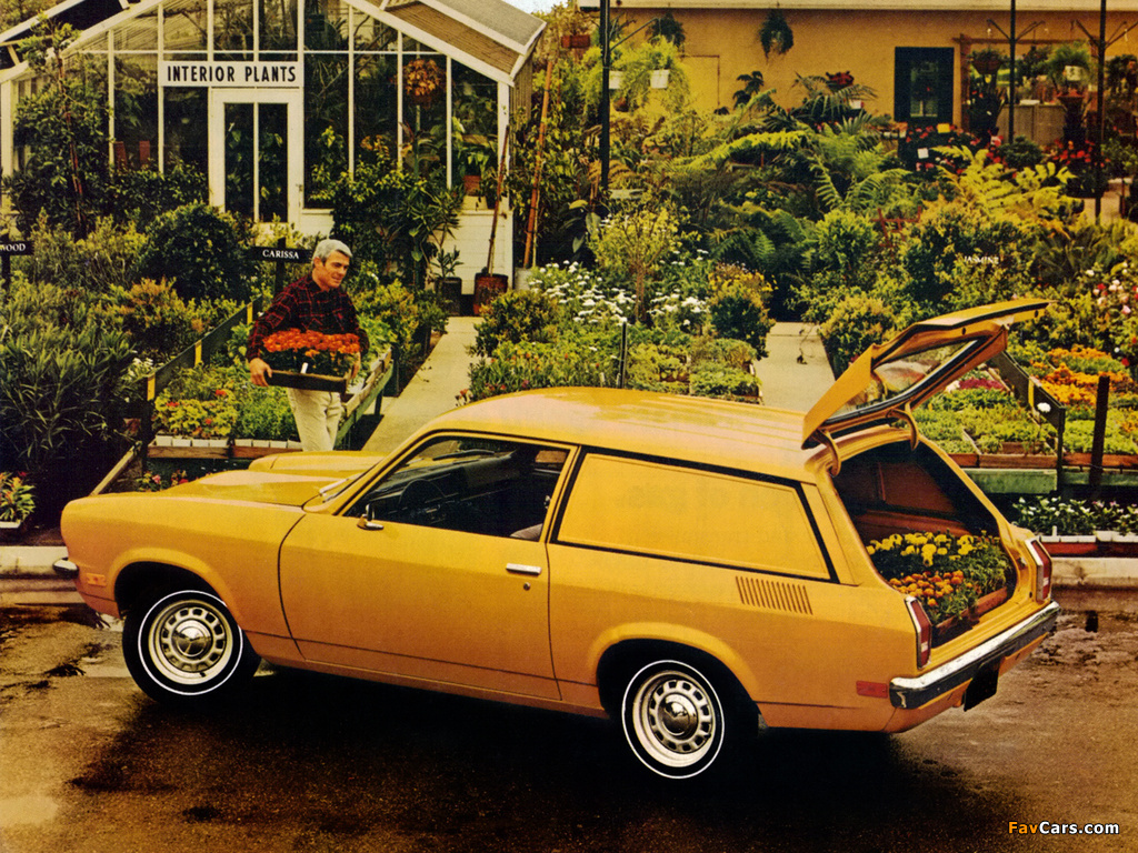 Chevrolet Vega Panel Express 1972 photos (1024 x 768)