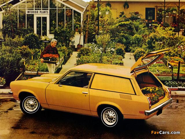 Chevrolet Vega Panel Express 1972 photos (640 x 480)