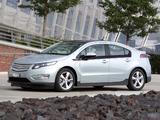 Chevrolet Volt EU-spec 2011 pictures