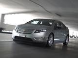 Chevrolet Volt EU-spec 2011 wallpapers