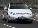 Chevrolet Volt UK-spec 2012 pictures