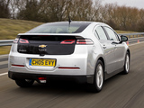 Chevrolet Volt UK-spec 2012 wallpapers