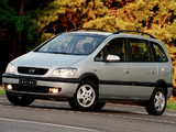 Chevrolet Zafira (A) 2001–02 images