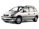 Chevrolet Zafira (A) 2001–02 photos