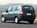 Chevrolet Zafira (A) 2002–04 pictures