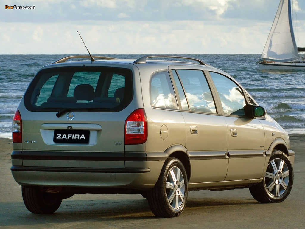 Chevrolet Zafira (A) 2004–12 images (1024 x 768)