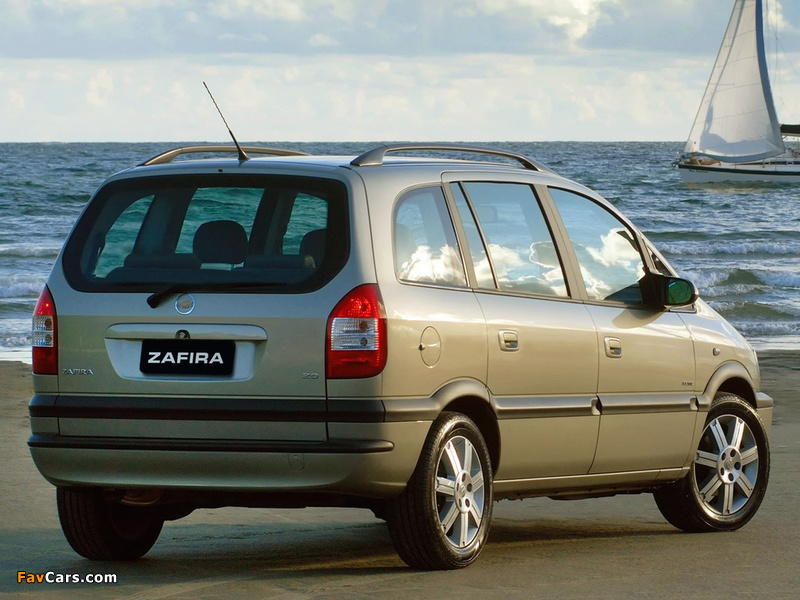 Chevrolet Zafira (A) 2004–12 images (800 x 600)