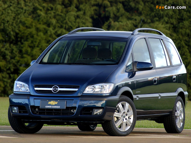 Chevrolet Zafira (A) 2004–12 images (640 x 480)