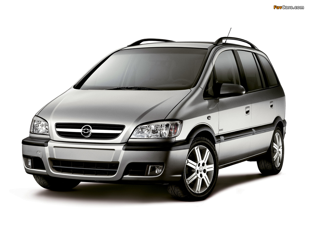 Chevrolet Zafira (A) 2004–12 pictures (1024 x 768)