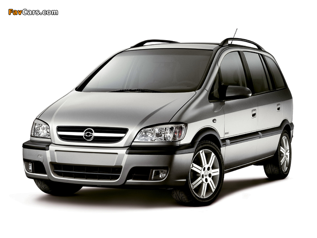 Chevrolet Zafira (A) 2004–12 pictures (640 x 480)
