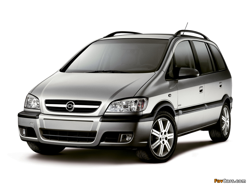 Chevrolet Zafira (A) 2004–12 pictures (800 x 600)