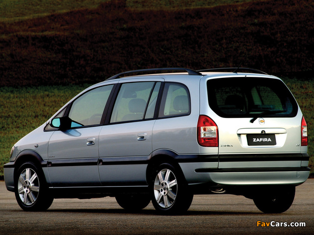 Chevrolet Zafira (A) 2004–12 wallpapers (640 x 480)