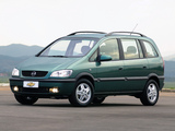 Chevrolet Zafira (A) 2002–04 wallpapers