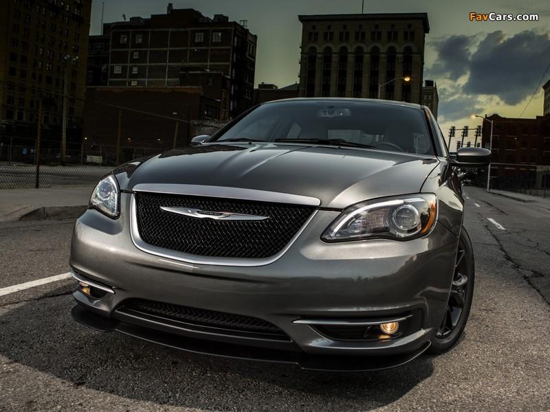 Chrysler 200S Special Edition (JS) 2013–14 photos (800 x 600)