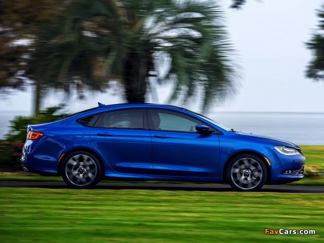 Chrysler 200S 2014 photos (640 x 480)